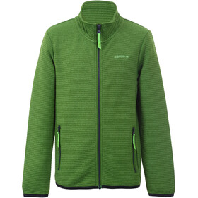 Icepeak Kershaw Midlayer Jas Kinderen, leaf green